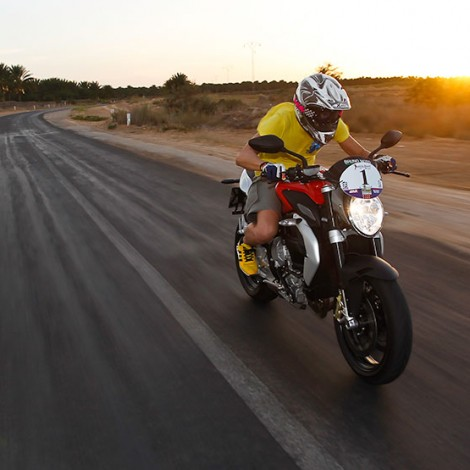 Shooting Café Racer – Play Boy Italia – moto: MV Agusta – location: Tunisia