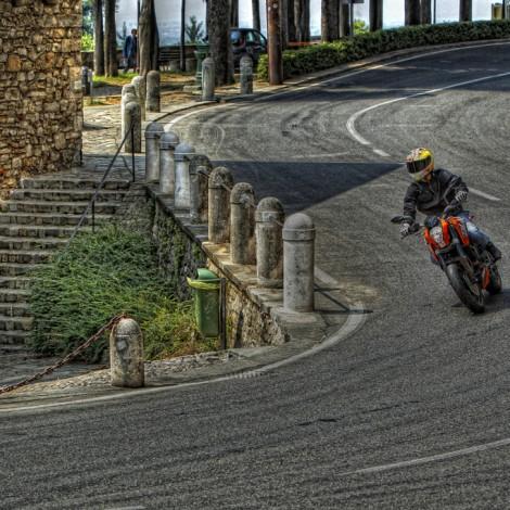 Cliente: KTM Italia – Shooting fotografico KTM Duke 125