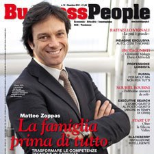 Rivista: Business People – Dicembre 2012 – Patron San Benedetto Matteo Zoppas