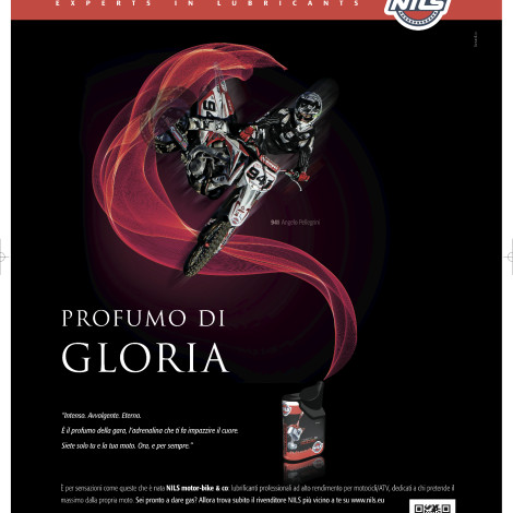 Cliente: Azienda NILS – Rider: Angelo Pellegrini – Campagna pubblicitaria – 2013