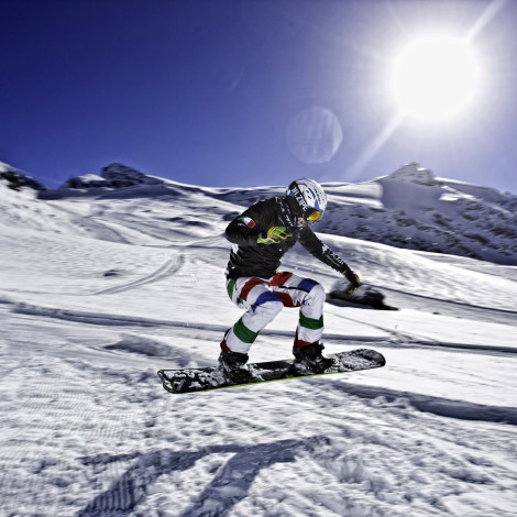 Cliente: Aleah Srl – Shooting Nazionale italiana Snow Cross – Atleta: Manuel Perathoner – Location: Breuil-Cervinia (Ao)