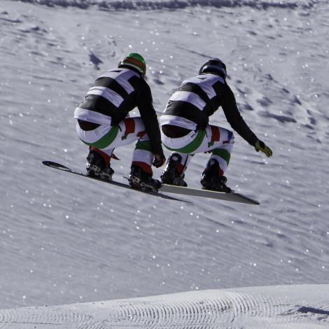 Cliente Aleah Srl – Shooting Nazionale italiana Snow Cross – Location Breuil Cervinia (AO)