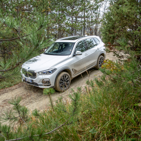BMW X5 – Italian Press Launch